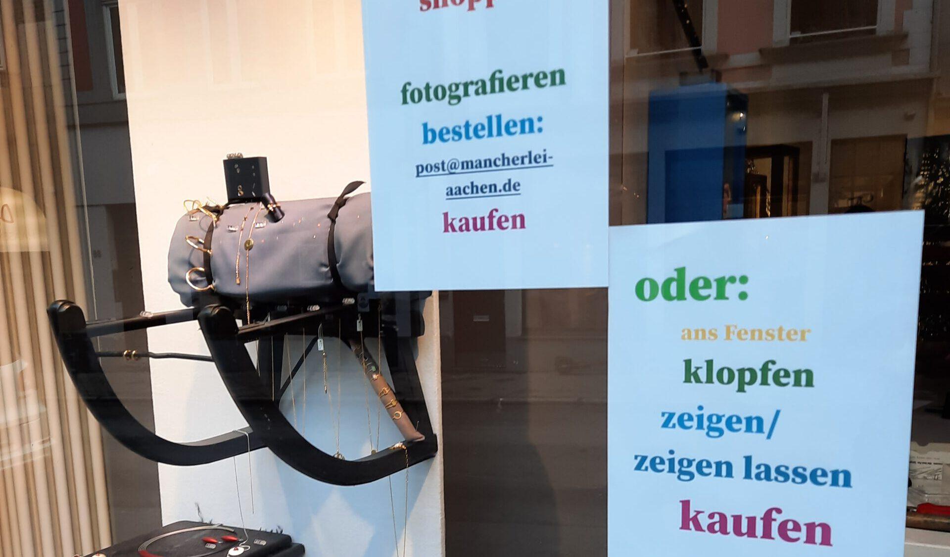 Schaufenster-Shoppen