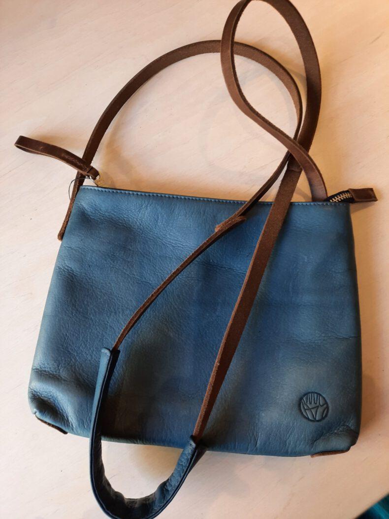 blaue Tasche Harold´s