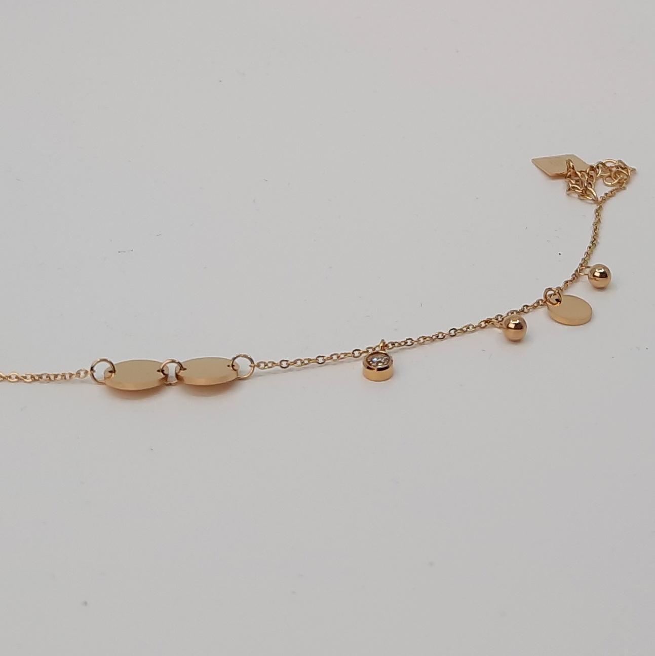 Armband vergoldet Zirkonia
