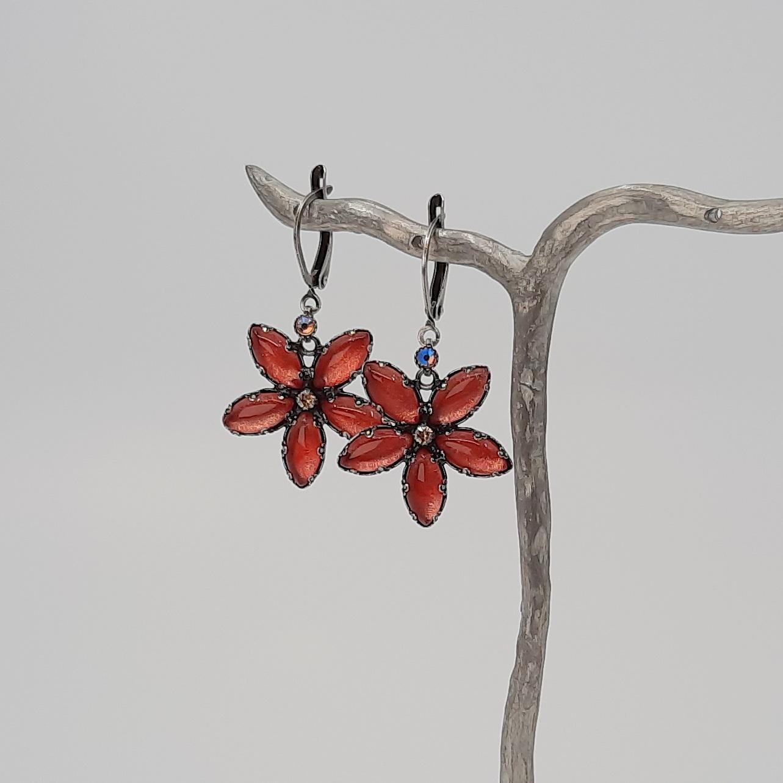 Ohrringe Konplott Blüte