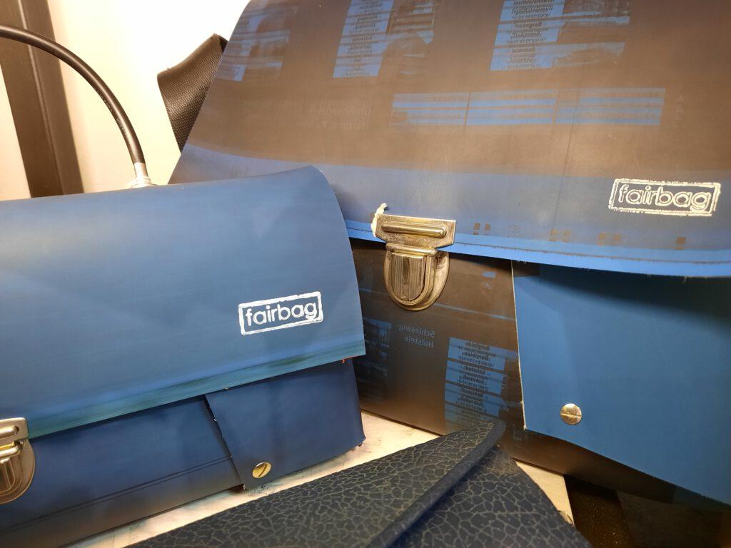 Taschen aus Offset-Druckplatten
